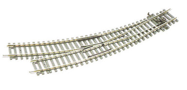 Peco ST-244 HO/OO Set Track R/H Curved Point