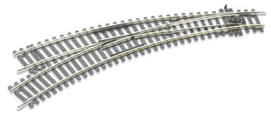 Peco ST-245 HO/OO Set Track L/H Curved Point