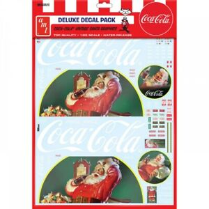 AMT 1/25 Deluxe Decal Pack Coca-Cola Vintage Sanat Graphics