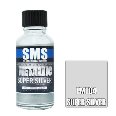 Sms Premium Metallic Super Silver 30ml