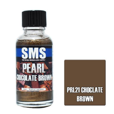 Sms Pearl Acrylic Lacquer Chocolate Brown 30ml