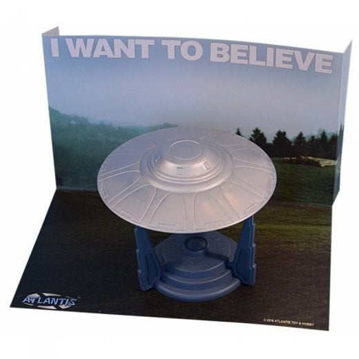 Atlantis I want To Believe 494 UFO  Model Kit