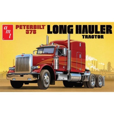 AMT 1/24 Peterbilt 378 Long Hauler Semi Trailer Truck