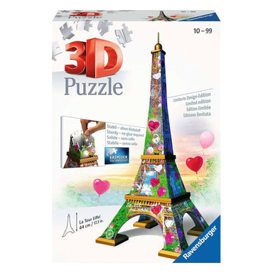 Ravensburger La Tour Eiffel Love Edition 3D Puzzle 216Pc