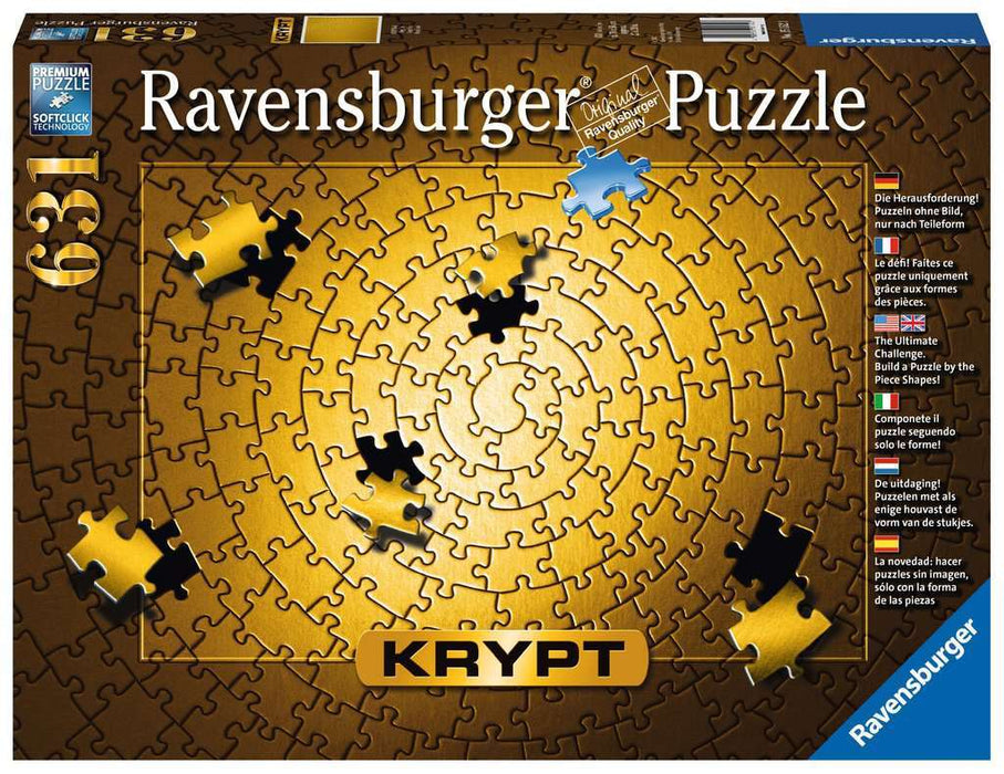 Ravensburger Krypt Gold Spiral Puzzle 631pc