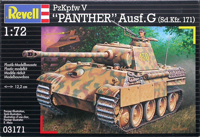 Revell 1/72 Panther Ausf.G Sdkfz.71