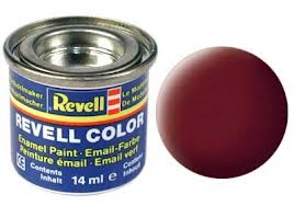 Revell 32137 Reddish Brown Matte Enamel Paint 14ml