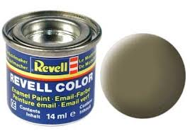 Revell 32139 Dark Green Matte Enamel Paint 14ml