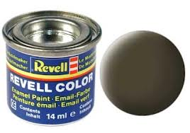 Revell 32140 Black-Green Matte