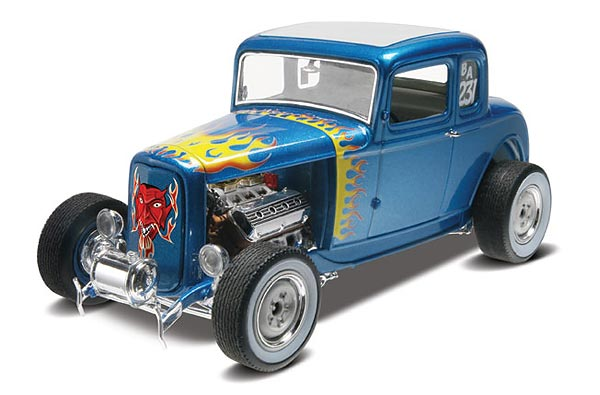 Revell 1/25 1932 Ford 5 Window Coupe