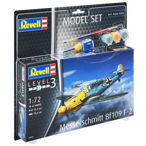 Revell 1/72 Messerschmitt Bf109 F-2 Model Set