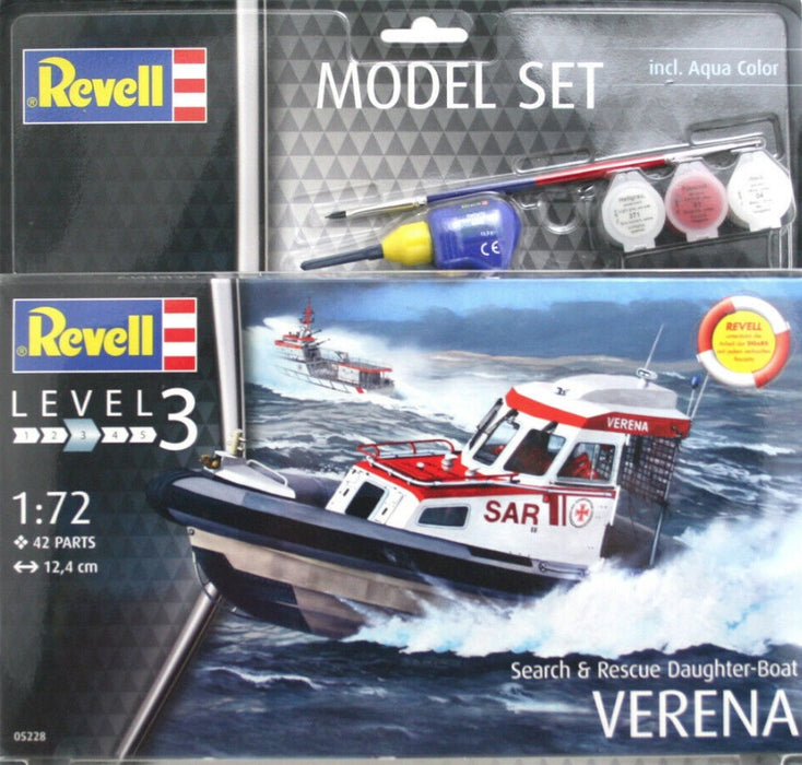 Revell 1/72 Search And Rescue Daughter Boat Verena Model Set