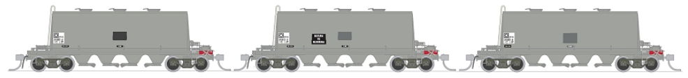 SDS HO NPAX Cement Grime Hopper Wagon Pack A (3)
