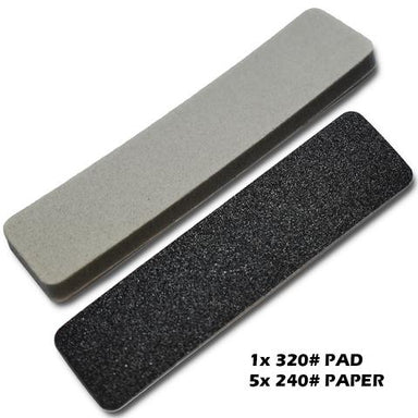 SMS Sanding Plate Refil 240# and 320# Medium Coarse Pads