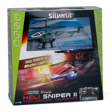 Silverlit Heli 3CH Infrared Sniper II Assorted Colours (1)