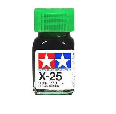 Tamiya X-25 Enamel Clear Green