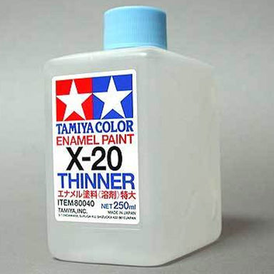 Tamiya X-20 Enamel Thinner 250ml