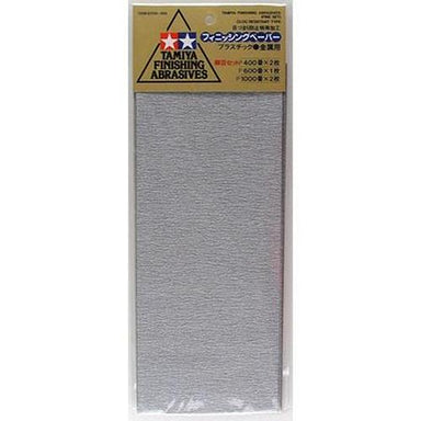 Tamiya 87010 Finishing Abrasives Fine Set