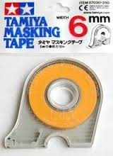 Tamiya 6Mm Masking Tape In Dispenser
