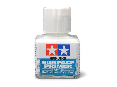 Tamiya 87096 Liquid Surface Primer White 40ml