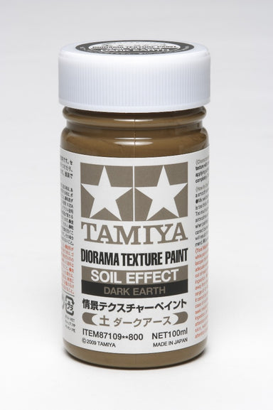 Tamiya 87109 Texture Paint Soil Effect Dark Earth