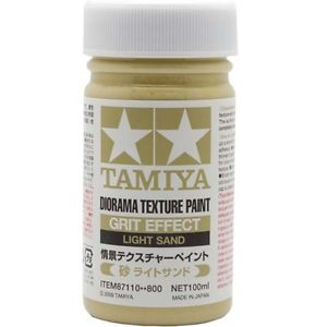 Tamiya 87110 Texture Paint Grit Effect Light Sand