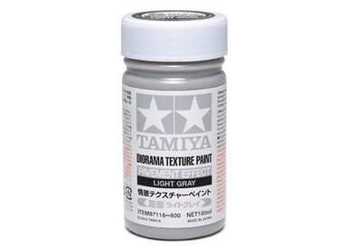 Tamiya 87116 Texture Paint Pavement Effect Light Grey