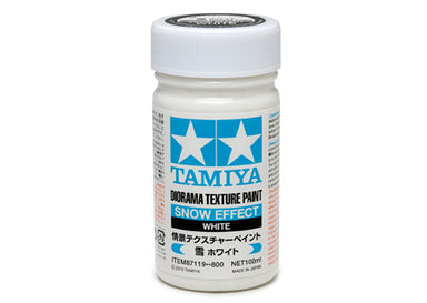 Tamiya 87119 Texture Paint Snow Effect White