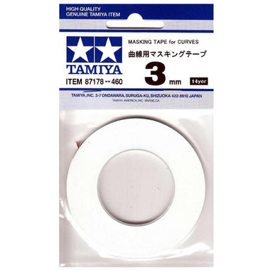 Tamiya 87178 Masking Tape For Curves 3Mm