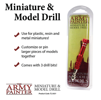 Army Painter TL5031 Miniature and Model Drill