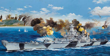 Trumpeter 1/200 Uss Iowa Bb-61 Kit