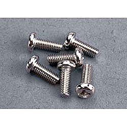 Traxxas 2559 Screws 3X8mm Roundhead 6