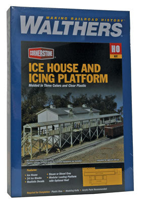 Walthers Cornerstone HO Ice House And Icing Platform