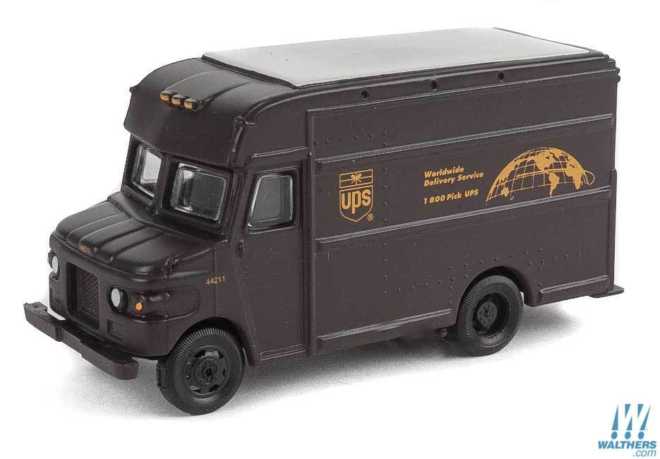 Walthers SceneMaster HO UPS Package Car - United Parcel Service Bow Tie Shield Logo