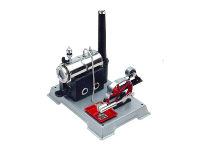 Wilesco D100E Experimental Kit with Steam Engine