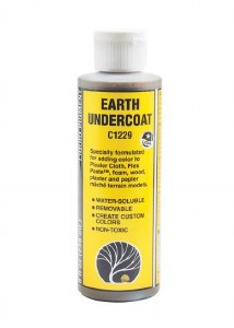 Woodland Scenics C1229 Colour Earth Undercoat 8Oz