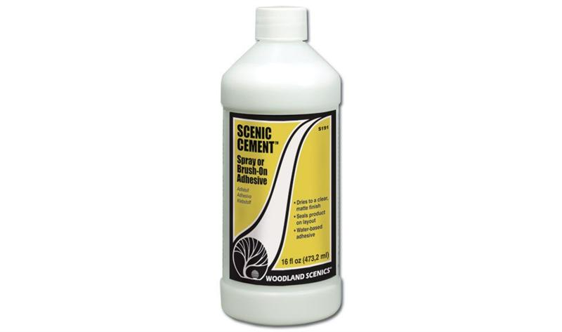 Woodland Scenics S191 Scenic Cement Matt 16oz