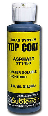 Woodland Scenics St1453 Top Coat Asphalt