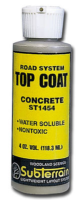 Woodland Scenics St1454 Top Coat Concrete