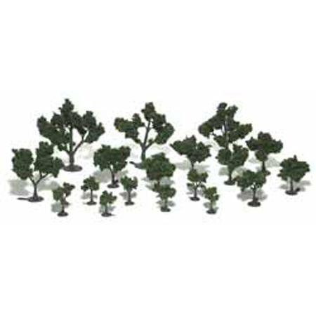 Woodland Scenics TR1111 Realistic Tree Kit 3/4-3 21Pcs
