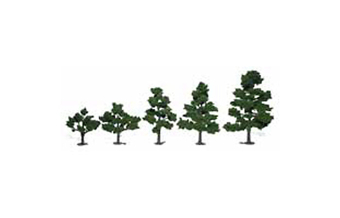 Woodland Scenics TR1112 Deciduous Tree Kit, 3-7 6