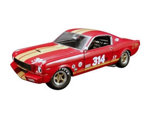 ACME 1/18 1966 SHELBY GT350H RENT A RACER 314 RED/WHITE