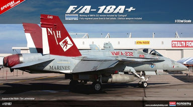 Academy 1/32 Fa18A Usmc Red Devils Plus Aus Decals Limited Ed