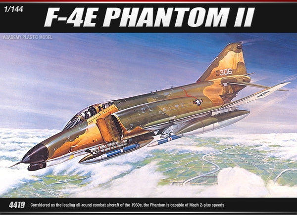 ACADEMY 1/144 US AIR FORCE F-4E PHANTOM II