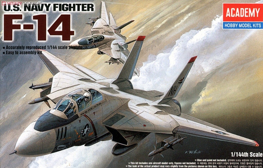 Academy 1/144 F-14A Tomcat Plastic Model Kit