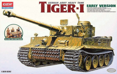 ACADEMY 1/35 GERMAN HEAVY TANK TIGER 1 EARLY PRODUCTION