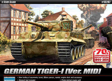 ACADEMY 1/35 TANK TIGER1 70th ANNIVERSARY