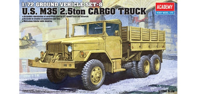 Academy 1/72 M35 2.5Ton Truck Plastic Model Kit