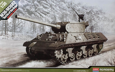 ACADEMY 1/35 M36/M36B2 'BATTLE OF THE BULGE' TANK