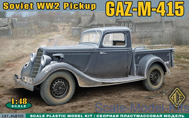 ACE 1/48 WWII SOVIET PICK-UP GAZ-M-415